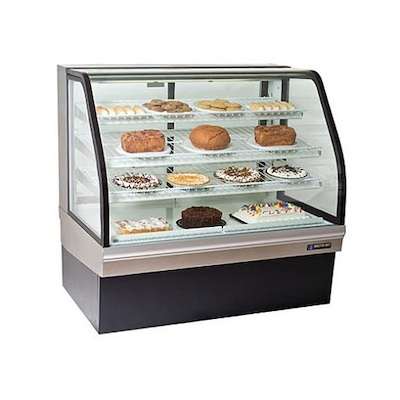 "CGB-50 Master-Bilt Floor Display Refrigerator CGB-50 - 50"", Curved"