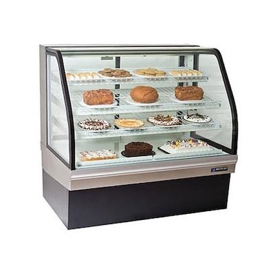 "CGB-77 Master-Bilt Floor Display Refrigerator CGB-77 - 77"", Curved"