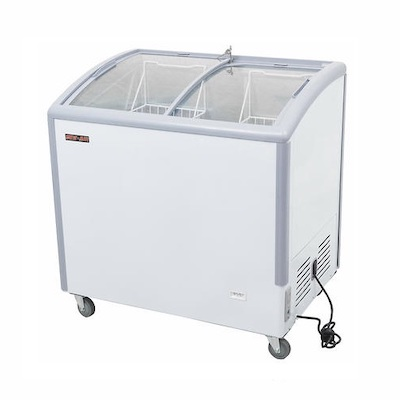 New Air Chest Freezer NIF-35-CG - 35""