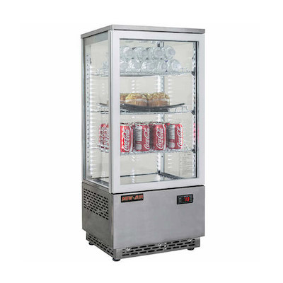 NDC-078-SS New Air Counter Top Chiller NDC-078-SS - 78L