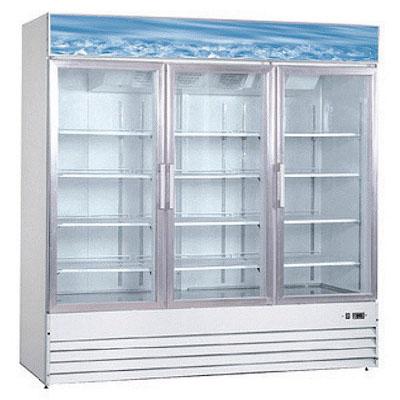 New Air Glass Door Freezer NGF-150-H - Three Door