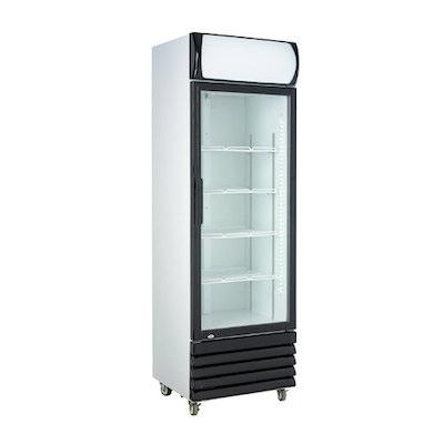 New Air Glass Merchandising Refrigerator NGR-036-H - One Door