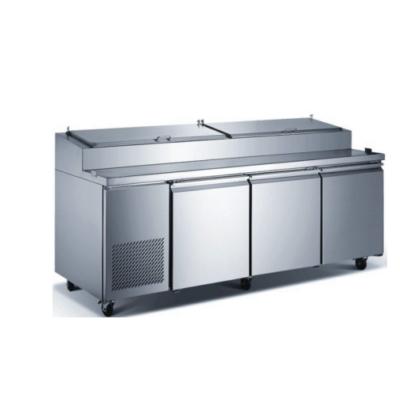 "New Air Pizza Prep Refrigerator NPT-092-PI - 92"""