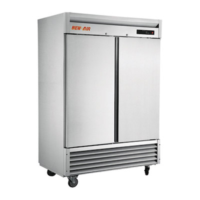 NSR-130-H New Air Reach in Refrigerator NSR-130-H - Two Solid Door