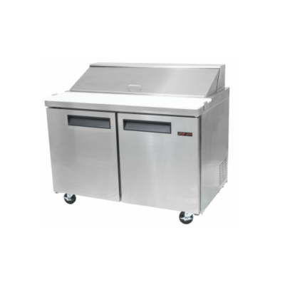 New Air Salad/Sandwich Prep Table NPT-060-SA - Two Door