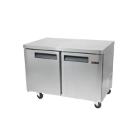 New Air Undercounter Freezer NUF-048-SS - Two Door