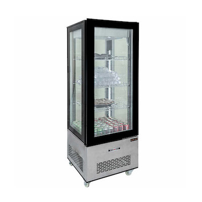 NDC-040-SS New Air Vertical Display Case NDC-040-SS - 400L