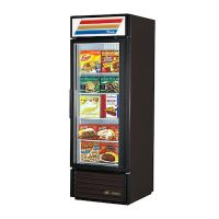 GDM-23F-LD TRUE Glass Merchandising Freezer GDM-23F-LD - One Door