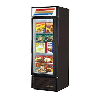 GDM-23F-LD TRUE Glass Merchandising Freezer GDM-23F-LD - One Door