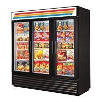 TRUE Glass Merchandising Freezer GDM-72F-LD - One Door