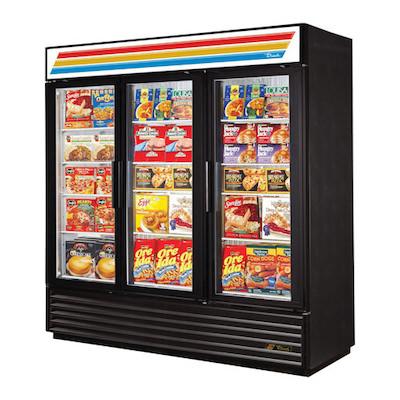 TRUE Glass Merchandising Freezer GDM-72F-LD - One Door