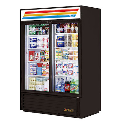 "GDM-41-HC-LD TRUE Glass Merchandising Refrigerator GDM-41-HC-LD - 48"""