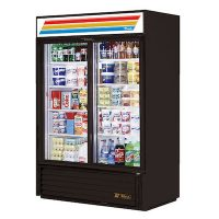 GDM-47-LD TRUE Glass Merchandising Refrigerator GDM-47-LD - Two Door