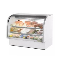 TRUE Refrigerated Deli Case TCGG-60 - 60""
