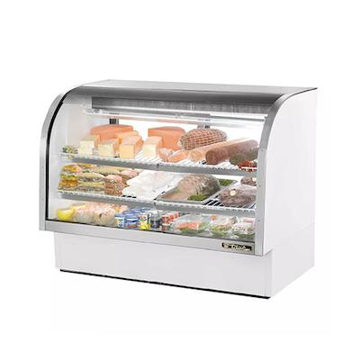 """TRUE Refrigerated Deli Case TCGG-60 - 60"""""""