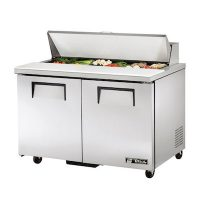 TSSU-60-16 TRUE Sandwich Prep Refrigerator TSSU-60-16 - Two Door