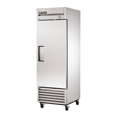 T-19F TRUE Solid Reach In Freezer T-19F - 27""