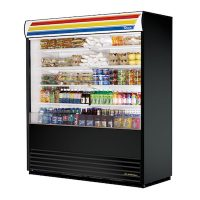TRUE Vertical Open Air Merchandiser TAC-72-LD - 72""