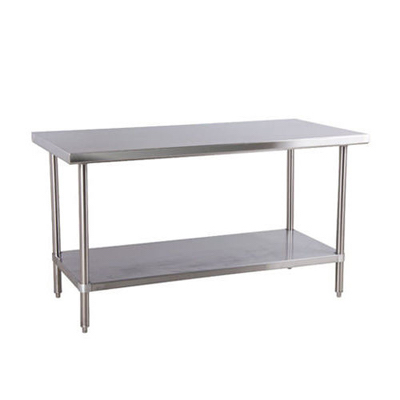 "DSST-2448-GS Thorinox Stainless Steel Work Table DSST-2448-GS - 24"" x 48"", 18 Gauge"