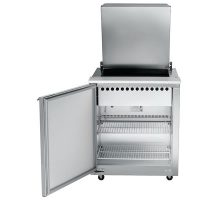 Traulsen Compact Sandwich Prep Table UST2706L-SB - Hinged Flat Top