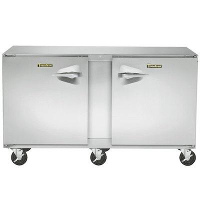 UHT72LR Traulsen Compact Undercounter Refrigerator UHT72LR - Hinged Doors, Stainless Steel Back