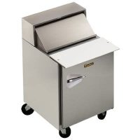 UPT2706R0 Traulsen Refrigerated Sandwich Prep Table UPT2706R0 - One Door