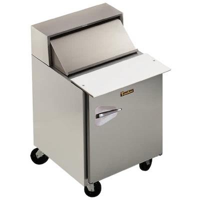 UPT2706R0 Traulsen Refrigerated Sandwich Prep Table UPT2706R0 - One Door