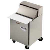 Traulsen Refrigerated Sandwich Prep Table UPT2709L0-SB - One Door