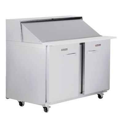UPT6012LR Traulsen Refrigerated Sandwich Prep Table UPT6012LR - Two Door