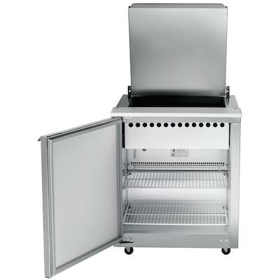 UST2709L-SB Traulsen Refrigerated Sandwich Prep Table UST2709L-SB - One Door