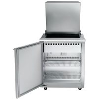 UST3208L-SB Traulsen Refrigerated Sandwich Prep Table UST3208L-SB - One Door