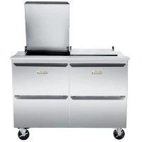 Traulsen Refrigerated Sandwich Prep Table UST6024DD-SB - Four Drawers