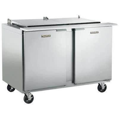 Traulsen Refrigerated Sandwich Prep Table UST7212LR - Two Door