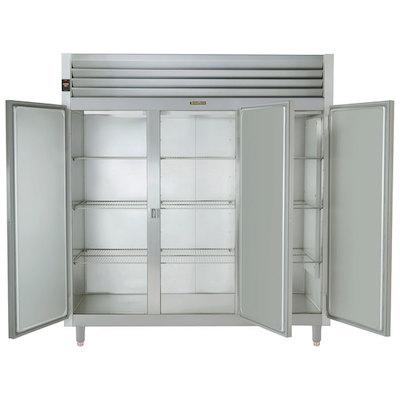 Traulsen Three Section Narrow Reach In Refrigerator AHT332NUT-FHS - Full & Half Door