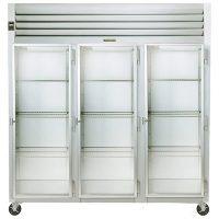 Traulsen Three Section Reach In Refrigerator G32012 - Glass Door