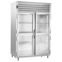 Traulsen Two Section Narrow Reach In Refrigerator AHT232DUT-HHG - Full & Half Door