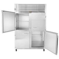 Traulsen Two Section Reach-In Refrigerator G20000-032 - Half Door