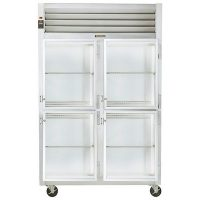 Traulsen Two Section Reach-In Refrigerator G21002-032 - Half Door