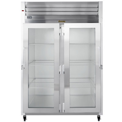 G21011 Traulsen Two Section Reach In Refrigerator G21011 - Glass Door