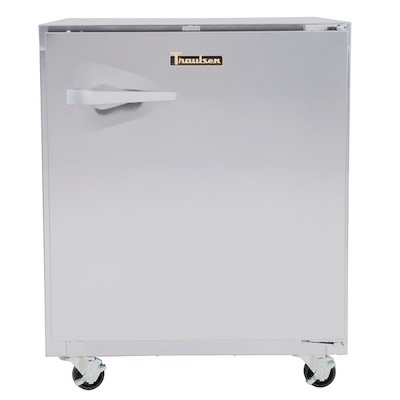UHT27R-SB Traulsen Undercounter Refrigerator UHT27R-SB - Hinged Doors, Stainless Steel Back
