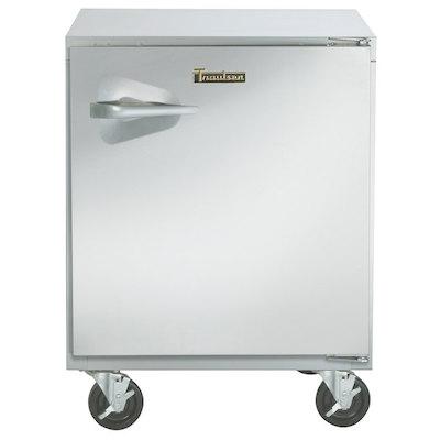 UHT32R-SB Traulsen Undercounter Refrigerator UHT32R-SB - Hinged Doors, Stainless Steel Back