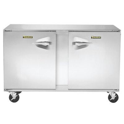 UHT48LR-SB Traulsen Undercounter Refrigerator UHT48LR-SB - Two Hinged Doors, Stainless Steel Back