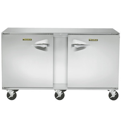 UHT60LR-SB Traulsen Undercounter Refrigerator UHT60LR-SB - Hinged Doors, Stainless Steel Back