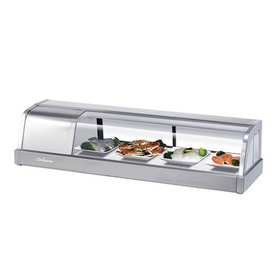 SAKURA-60 Turbo air Self-Contained Refrigerated Sushi Case SAKURA-60 - 60""