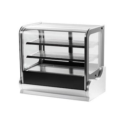 "40863 Vollrath Countertop Display Refrigerator 40863 - 48"", Cubed Glass"