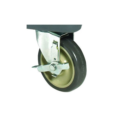 Winco Food Transporter Caster Wheels With Brakes For IFT-1 IFT-C5B -