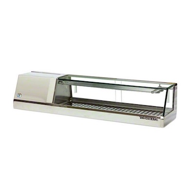 YMSC-6 Yoshimasa Self-Contained Refrigerated Sushi Case YMSC-6 - 72""