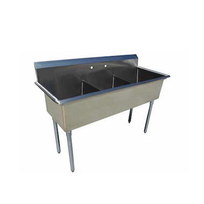 EFI SI818-3NC-E Three Tub Sink