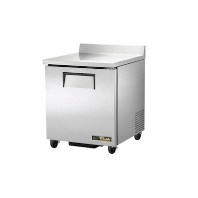 TRUE TWT-27-HC Undercounter Refrigerator with Worktop