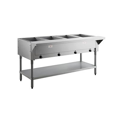 HF-4E-120 Advance Tabco Electric Steam Table with Undershelf HF-4E-120 - 4 Well